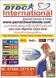 FROM£1.50/KG SEND CARGO/PARCEL/DOCUMENTS TO USA-EUROPE-INDIA -PAKISTAN-BANGLADESH N WORLDWIDE !!!!