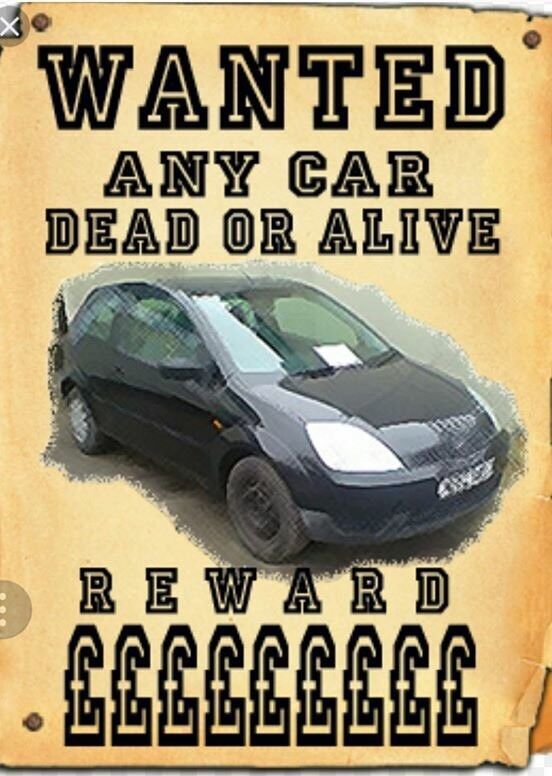 Wanted cars