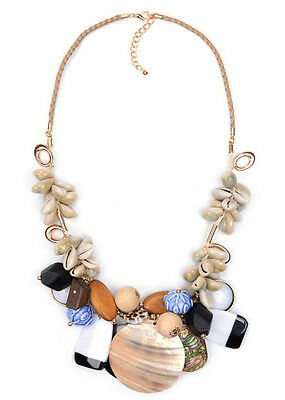 MARNI H&M Shell & Beads Necklaces