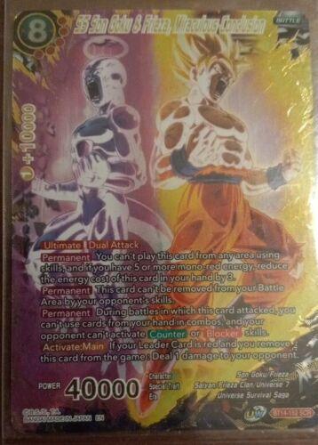 DragonBall Super CCG SS Son Goku Frieza, Miraculous Conclusion BT14-152 SCR - $285.00
