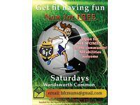 FREE Ladies Football in Wandsworth Common