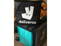 Deliveroo Gear: pack, jacket, bag - buy any or all