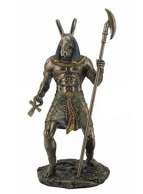 "10.75"" Egyptian Seth Sculpture Figurine Ancient Egypt God Statue Decor Darkness"