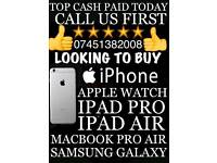 WANTED IPHONE 6S 7PLUS MACBOOK PROIPAD PRO SAMSUNG S6 S7 S8EDGE PLUS APPLE WATCH