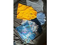 Boys clothes bundle t-shirts jeans and shirt 10 to 12 years