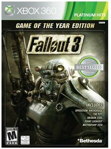 Fallout 3 (Game of the Year Edition) (Platinum Hits)  (Xbox 360)