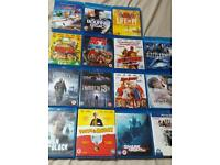 Blu ray dvds £3-£5 each