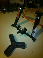 Bike Trainer and Riser Block