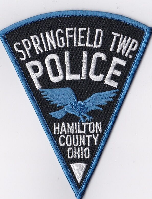 Springfield TWP Police Hamilton County Police Patch Ohio OH