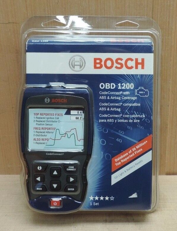 Bosch Obd1200 Code Connect Enhanced Auto Scan Tool W Abs