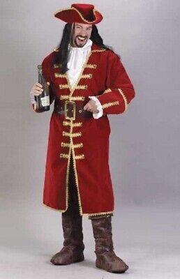 Fun World Captain Morgan Blackheart Pirate Adult Mens Halloween Costume 5407