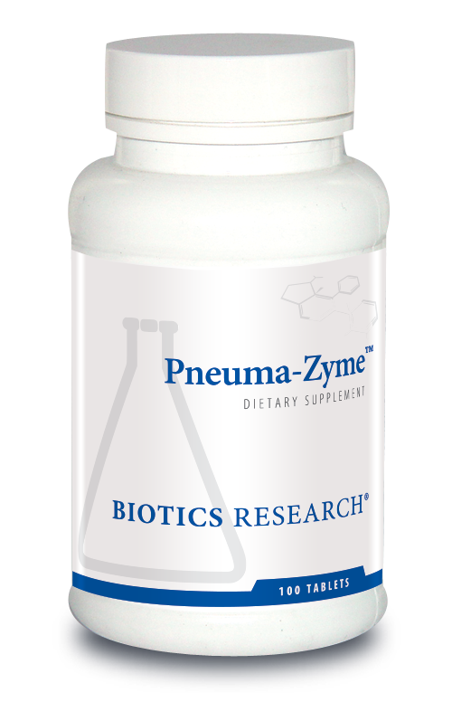 Biotics Research Pneuma-Zyme dietary Supplement Lung Respiratory
