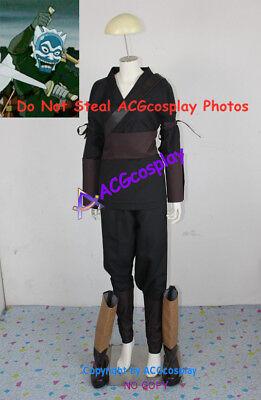 Avatar The Last Airbender Blue Spirit zuko cosplay costumes NOT include boots (Zuko Costumes)