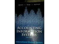 University Accounting - Accounting Information Systems 12th edition