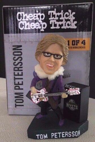 2016 Cheap Trick Tom Petersson Bobblehead Rockford Rivets