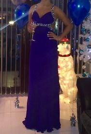Formal dress- Royal blue size8/10