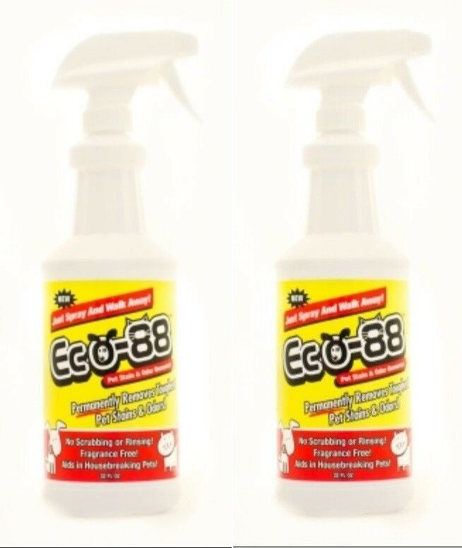 Eco-88 Pet Stain & Odor Remover Two Pack - 32oz