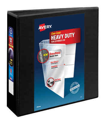 Ave79693 View Ring Binder Heavy Duty Ezd3 Black Avery 79693 Lot Of 4
