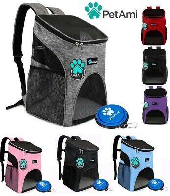 Pet Cat Dog Puppy Carrier Travel Backpack Bag for Travel Breathable Mesh Comfort Bp Mesh Backpack