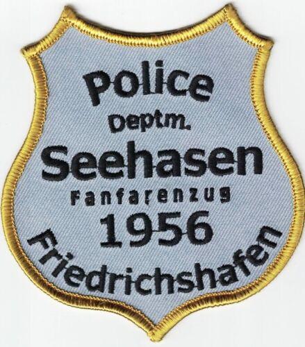 Friedrichshafen Police Deptm. Seehasen 1956 Germany patch NEW