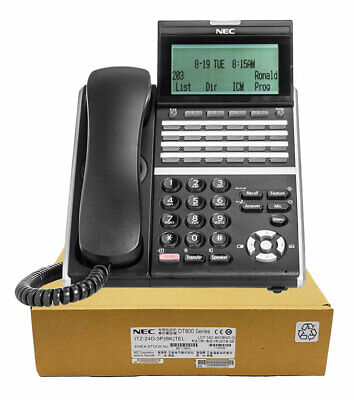 Nec Itz-24d-3 Ip Phone Black Dt830 Brand New 1 Year Warranty