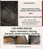 attention log home owners
