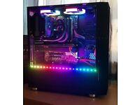 REFURBISHED GAMING PC I5 4690K GTX 1050 TI 16GB RAM 480GB SSD CORSAIR COOLER PX GAMING LAPTOP