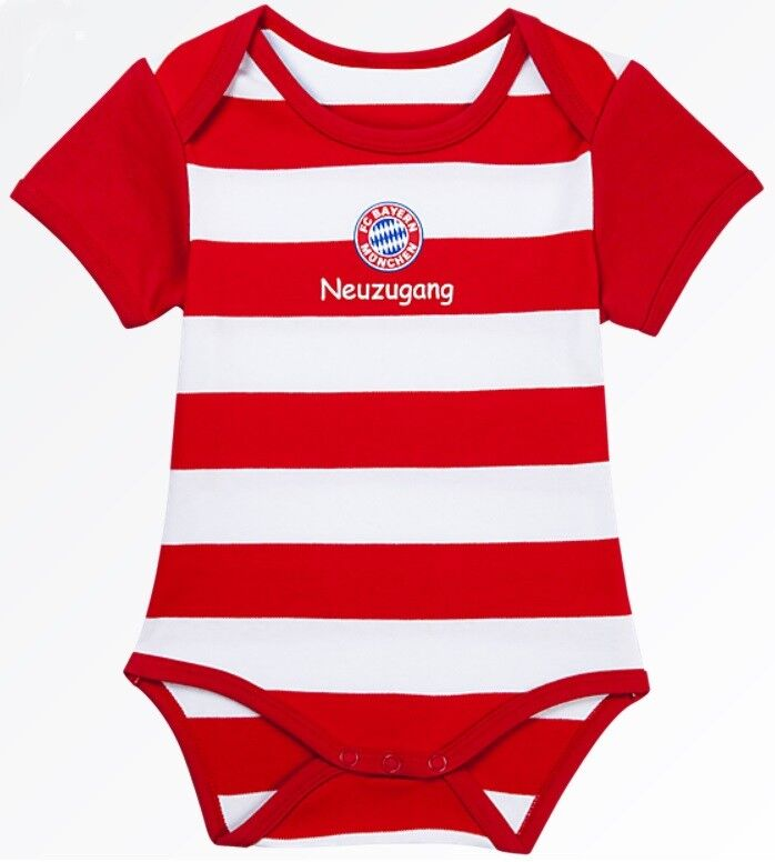 Babybody Strampler Neuzugang FC Bayern München Trikot NEU! OVP!  62/68 - 74/80