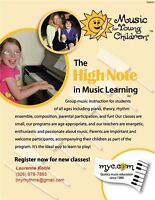 MYC Group Music Lessons -Warman SK