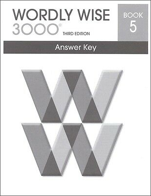 Wordly Wise 3000 Grade 5 Key **3rd Edition**