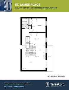 CONVENIENCE AND VALUE IN TWO BEDROOM SUITES. London Ontario image 11