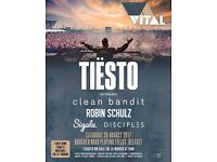 Tiesto ticket for sale