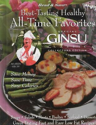 Best Tasting Healthy All-Time Favorites Special GINSU Classic Cookbook Low