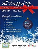 Holiday Sale in Lakefield