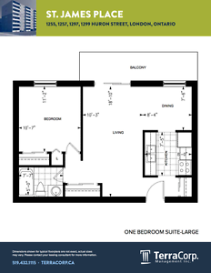 ONE BEDROOM SUITES FOR APRIL OR MAY MOVE IN. London Ontario image 8