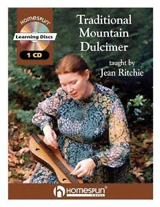 Traditional Mountain Dulcimer Jean Ritchie Book Cd NEW!