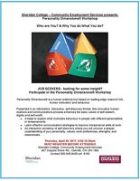 A Personality Dimensions®  workshop: WHO ARE YOU?