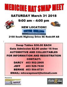 Medicine Hat Swap Meet