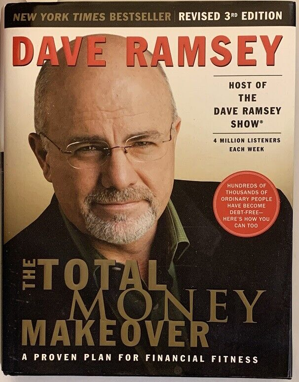 Signed Total Money Makeover Hardback Book - Dave Ramsey 9781595550781 Financial - $15.59