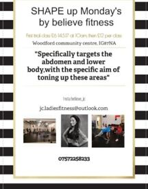 BELIEVE FITNESS WITH JODIE CROWE