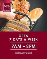 Full-time and Part-time Sales Associates - COBS Bread SE & NW
