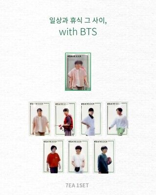 OFFICIAL BTS [IN THE SOOP] PHOTOCARD SET 7PCS