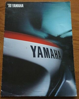 1990 Yamaha Motorbike Brochure Supersport Adventure Sport Boulevard FZR1000 etc