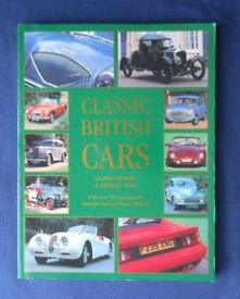 Classic British cars Graham Robson. Limpback, very good condition.