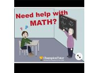 Maths Tutor 1st Year University Modules, A level Further, A Level, GCSE Further, GCSE, KS3 and AQE.