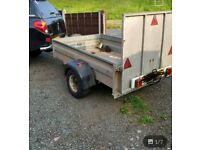 Galvanised plant quad trailer