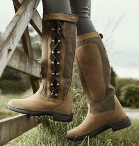 Dublin Pinnacle Boots Chocolate Waterproof Ladies US 6.5, UK 4, AU 6