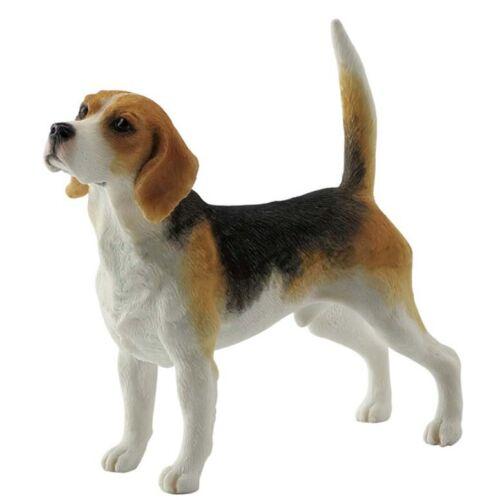 "4"" Beagle Dog Statue Pet Figurine Animal Figure"