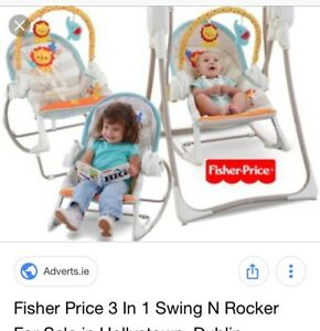 Swing & rocker in one