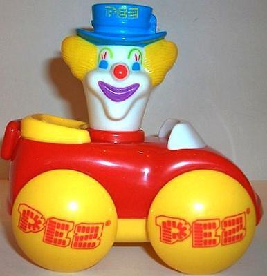 Cheap Clown (PETER THE CLOWN CAR PEZ DISPENSER ~ LOOSE WITH CANDY ~ CHEAP US)